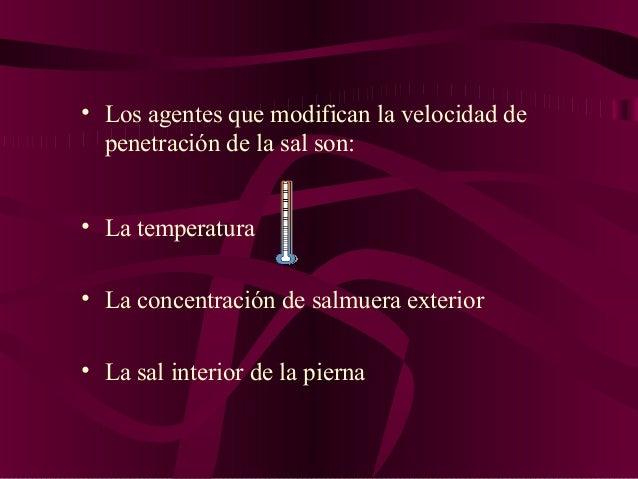 Curación El proceso de curado es un fenómeno físico-químico de actividad de agua y efecto osmótico que tiene como finalida...