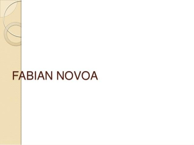 FABIAN NOVOA