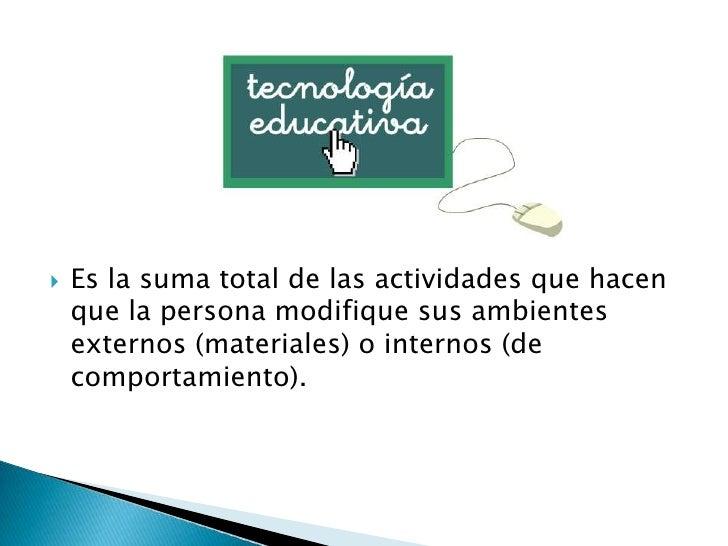 Tecnología educativa Slide 2