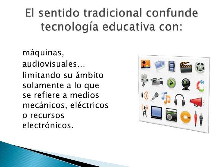 Tecnología educativa Slide 3