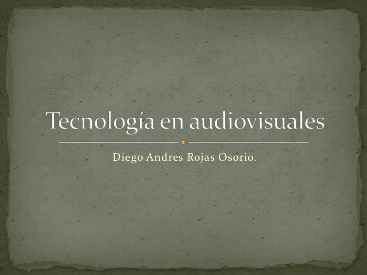 Diego Andres Rojas Osorio.