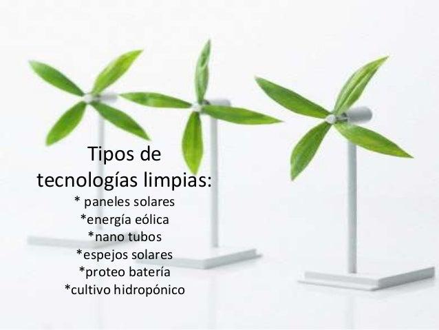 Tecnolog a limpia - Tipos de paneles solares ...