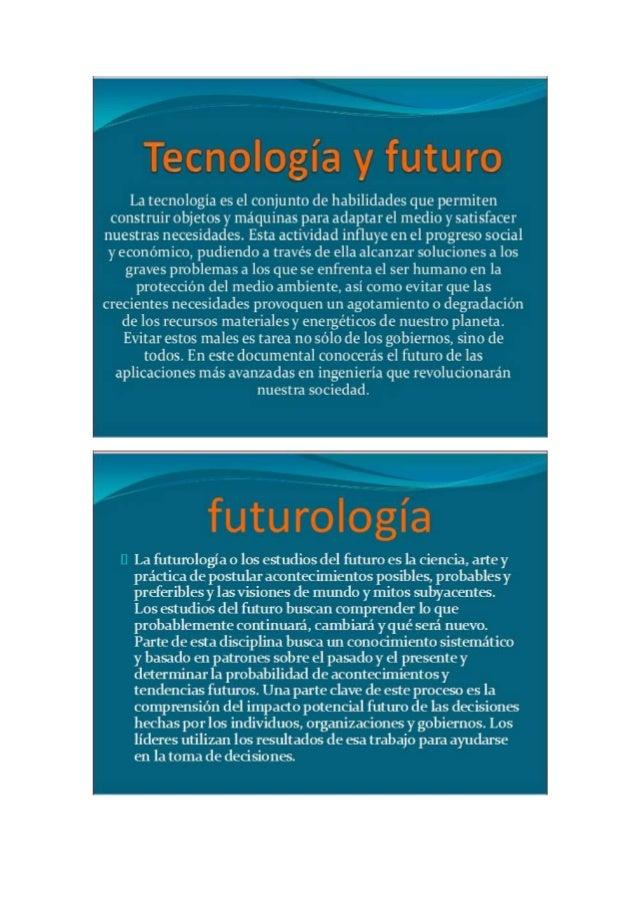 En 2046 se habrá consolidado la energía nuclear de fusión, en 2041 existirá   una pequeña ciudad en la Luna, en 2036 tendr...
