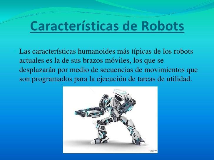 Tecnolog a rob tica y automatizaci n for Cuales son las caracteristicas de un mural