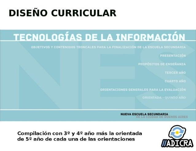 Sobre este documento: Tecnologías de la Información es una materia de la Formación General del Ciclo Orientado (3º, 4º y 5...
