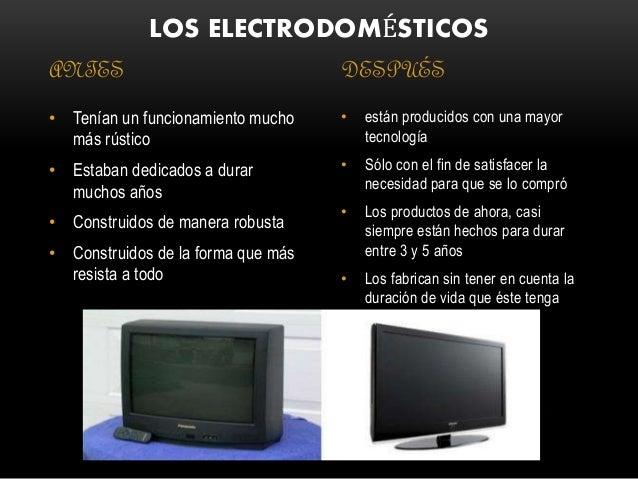 Tecnolog as del pasado y del presente - Lo ultimo en electrodomesticos ...