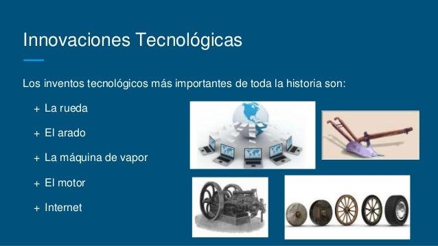 inventos tecnologicos mas importantes de la historia