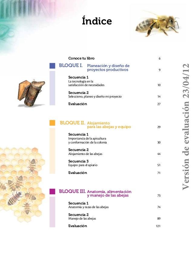 Tecnologia i (apicultura) 2012