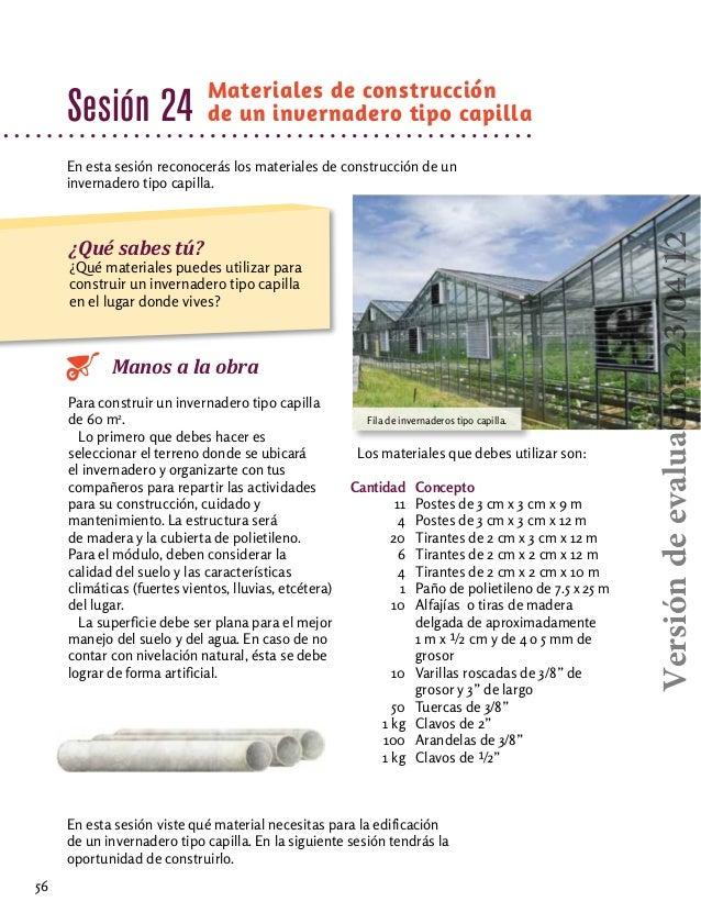 Tecnologia i horticultura 2012 for Factores para seleccionar el terreno para el vivero