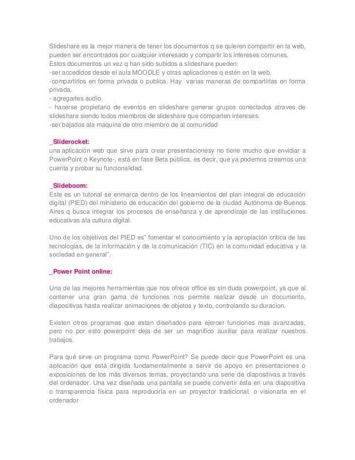 herramientas web 2.0  Slide 3