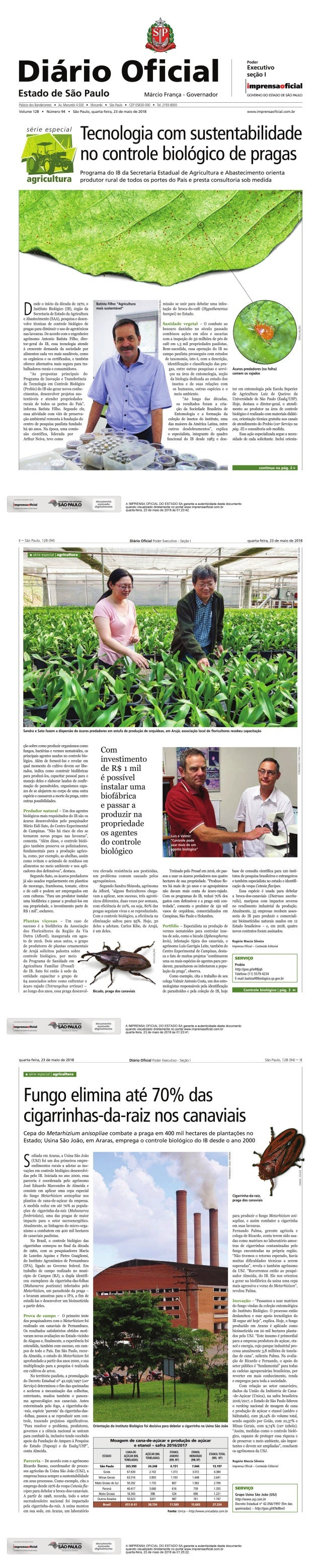 Tecnologia com sustentabilidade no controle biológico de pragas