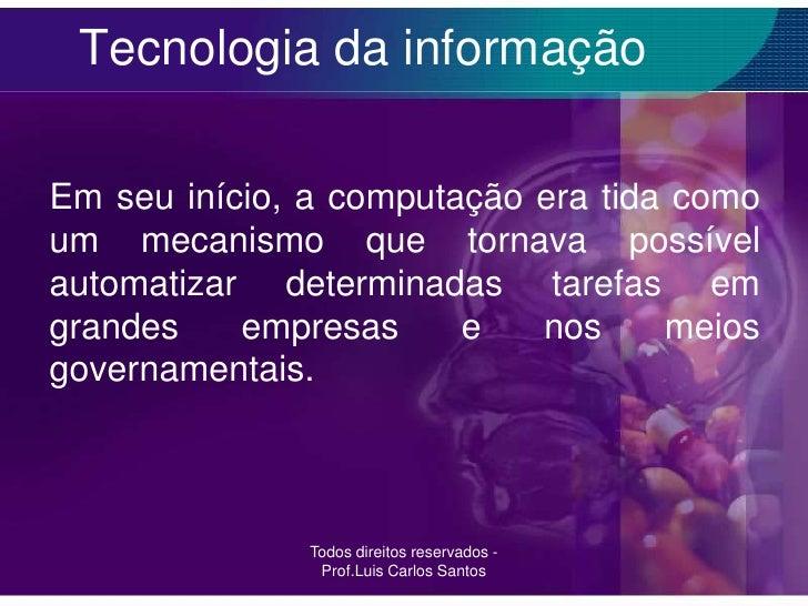 Diploma tecnologia da informacao