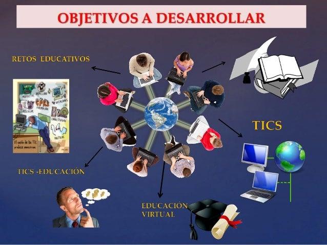 Tecnologia de informacion y comunicacion en la educacion virtual Slide 3