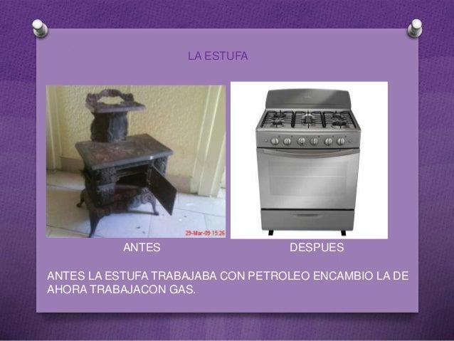 inventos tecnologicos antes y ahora