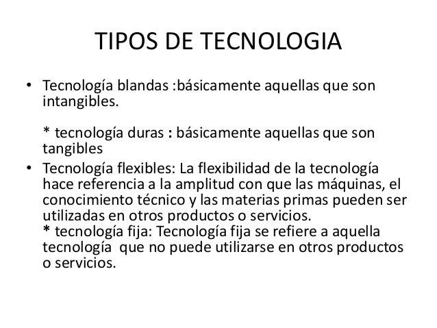 Tecnologia de vanguardia for Tipos de vanguardias