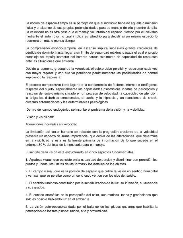 SEGURIDAD VIAL- MARCO TEORICO