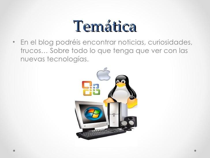 Blog Tecnologia everywhere Slide 2
