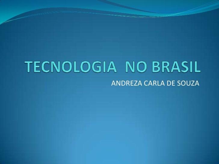ANDREZA CARLA DE SOUZA