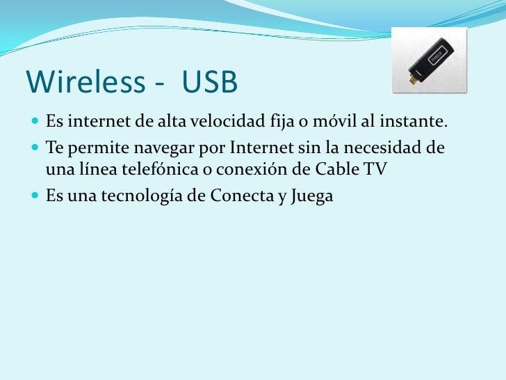 Tecnologias para acceder a Internet