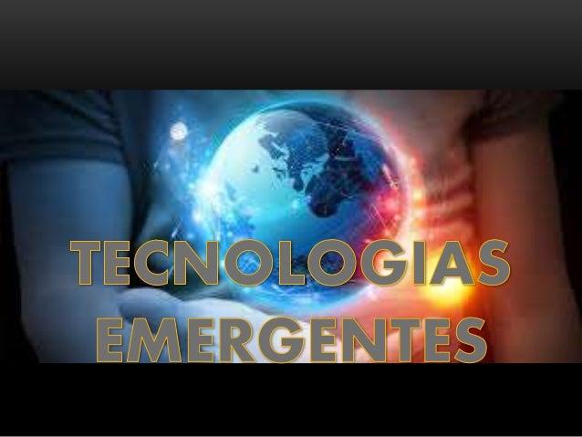 TECNOLOGIAS EMERGENTES PDF DOWNLOAD