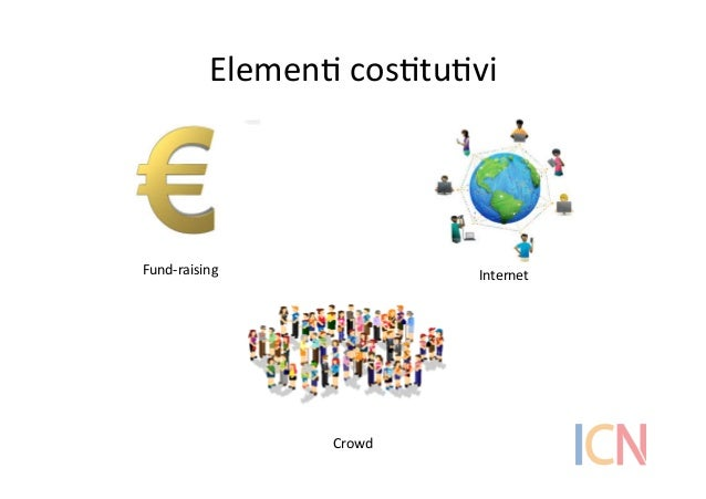 ElemenI  cosItuIvi   Fund-‐raising   Internet   Crowd