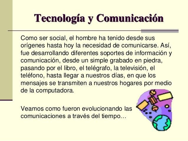 Tecnologia y comunicacion Slide 2