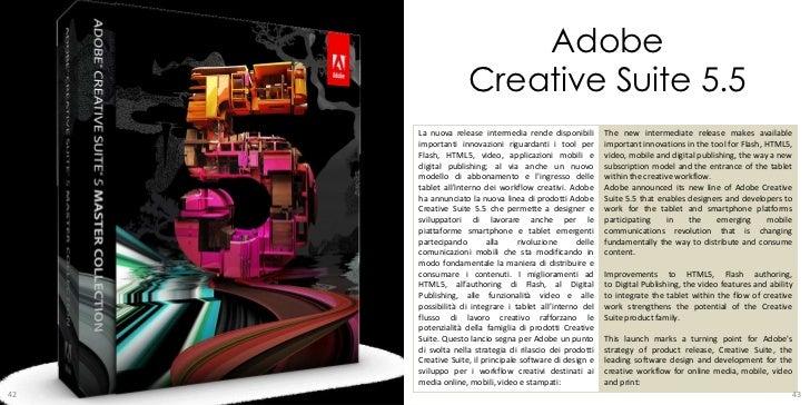 Tecnologopercaso maggio 2011 for Adobe digital publishing suite pricing