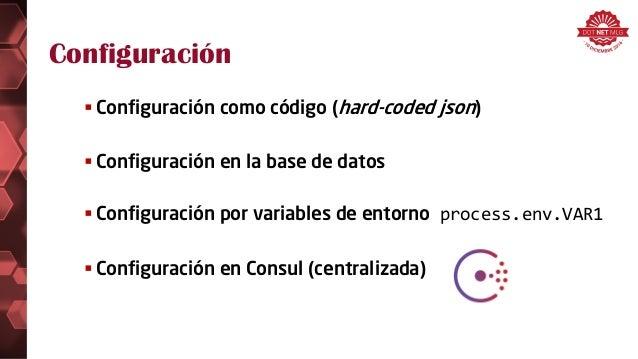 Tecnolog as para microservicios for Consul node js