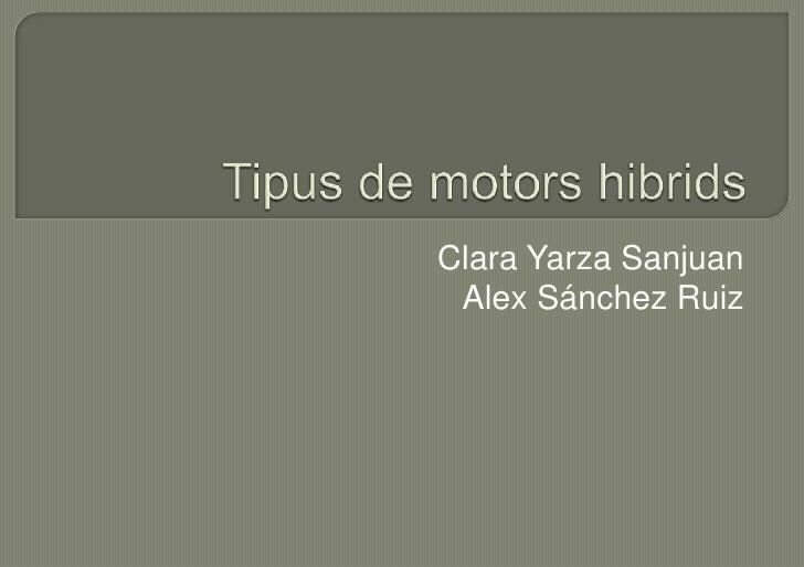 Clara Yarza Sanjuan Alex Sánchez Ruiz