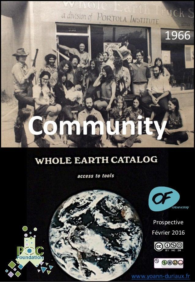 1966 Community www.yoann-duriaux.fr Février2016 Prospective