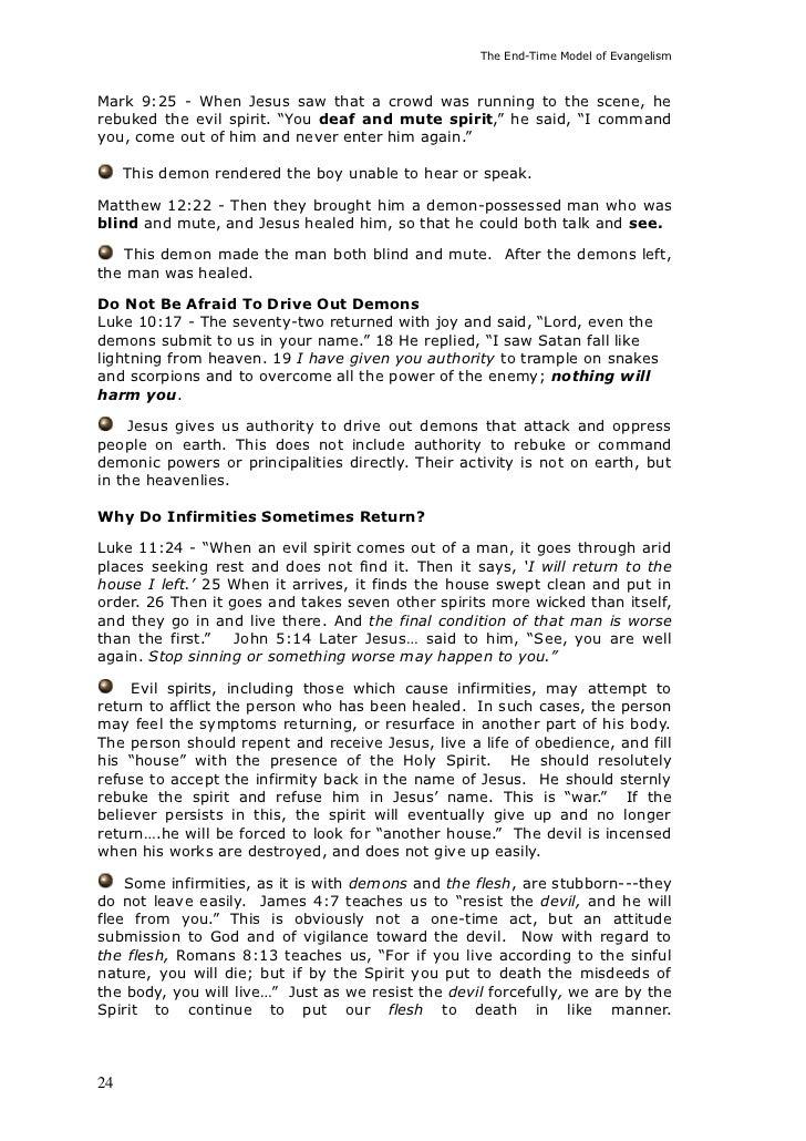 The Elijah Challenge End Time Model Of Evangelism