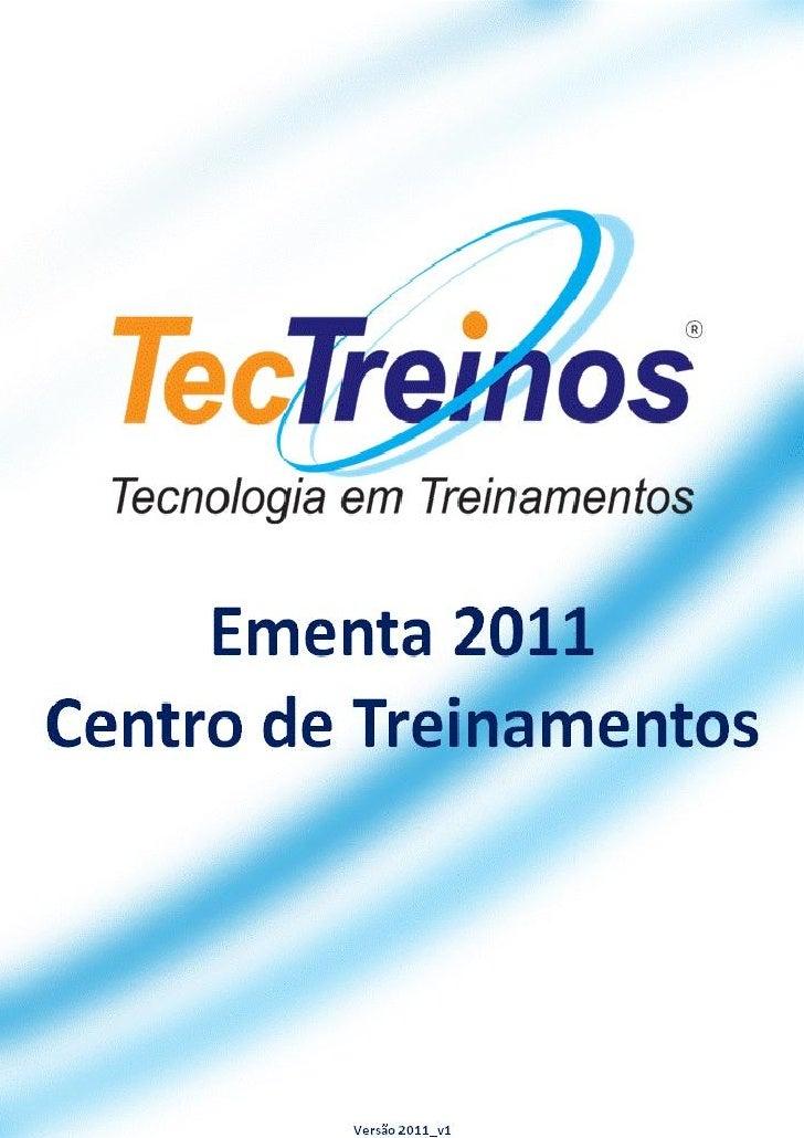 TecTreinos - Ementas 2011