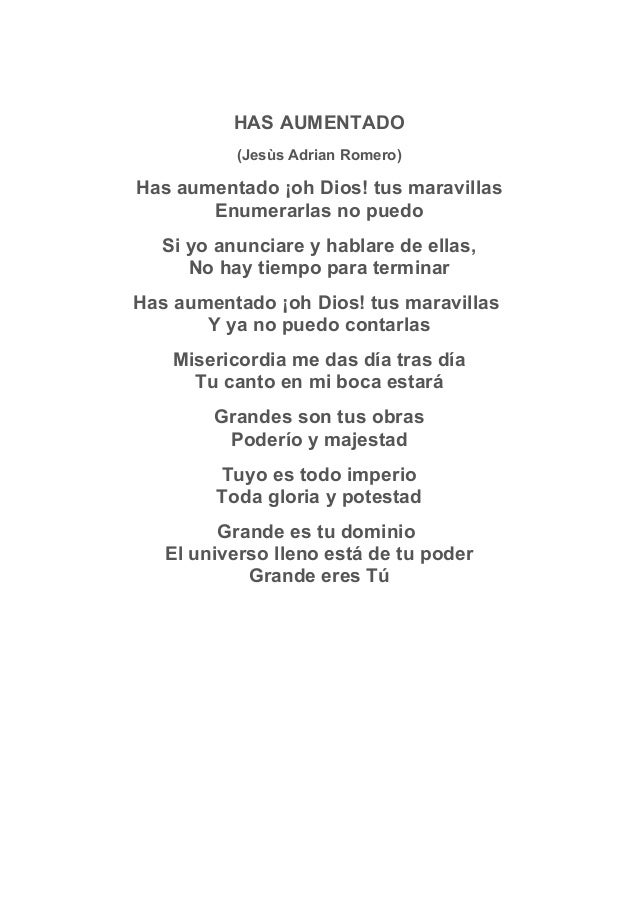 Llename De Fervor 14 HAS AUMENTADO Jess Adrian Romero
