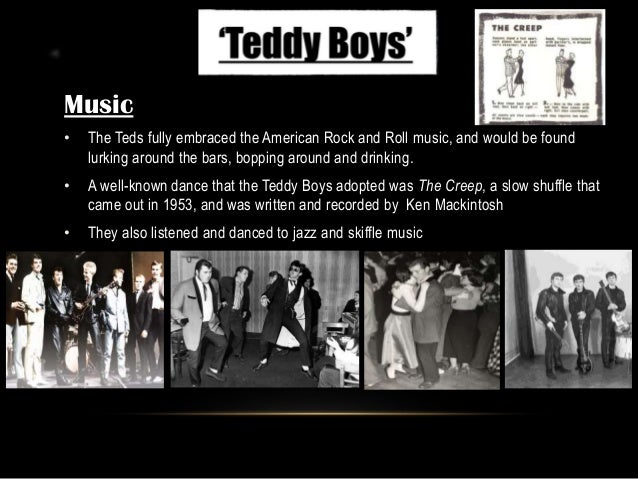 Teddy Boys. Pptx
