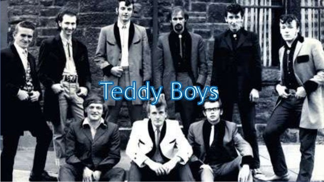 Who are they? Teddy Boy (also known as Ted) is a British subculture typified by young men wearing clothes that were partly...