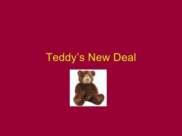 Teddy's New Deal