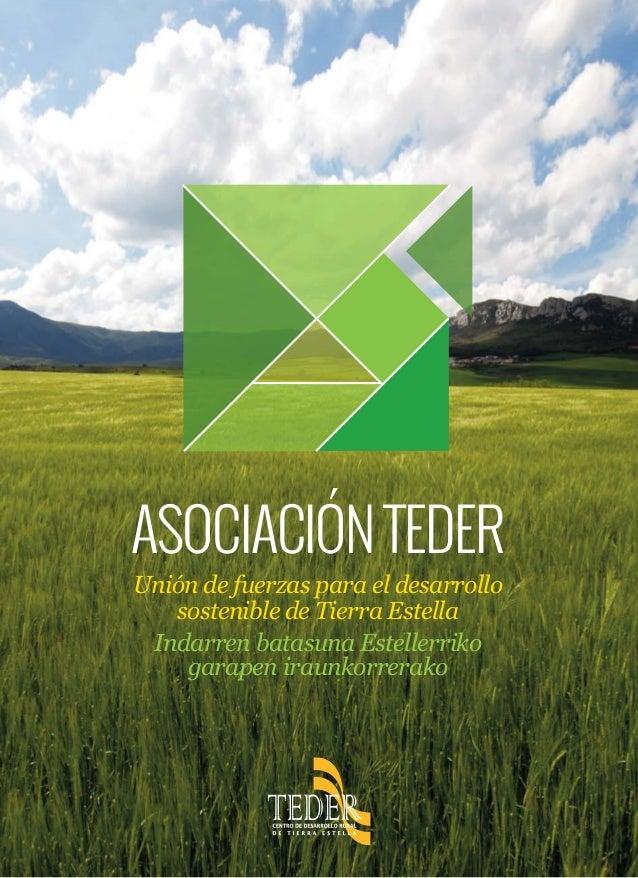 Unión de fuerzas para el desarrollo sostenible de Tierra Estella Indarren batasuna Estellerriko garapen iraunkorrerako ASO...