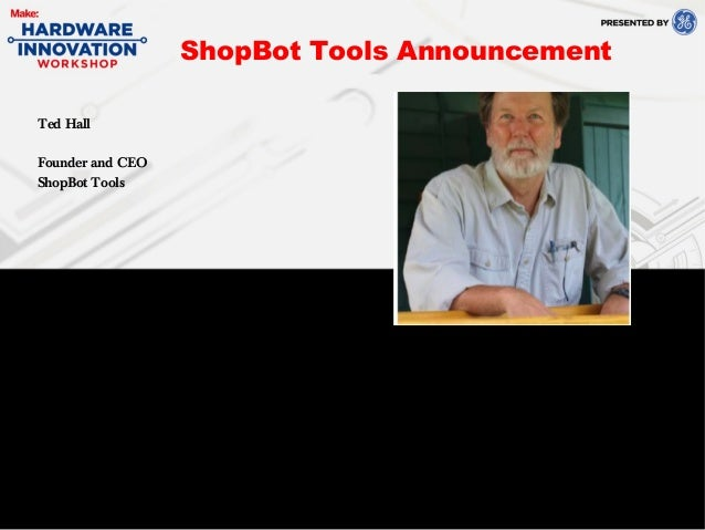 Ted HallFounder and CEOShopBot ToolsShopBot Tools Announcement