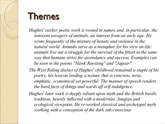 essay on the imagery of ted hughes Essay on the imagery of ted hughes we are experts with more than 10 years of experience get resume writing tips along with essay, cover letter or resume.