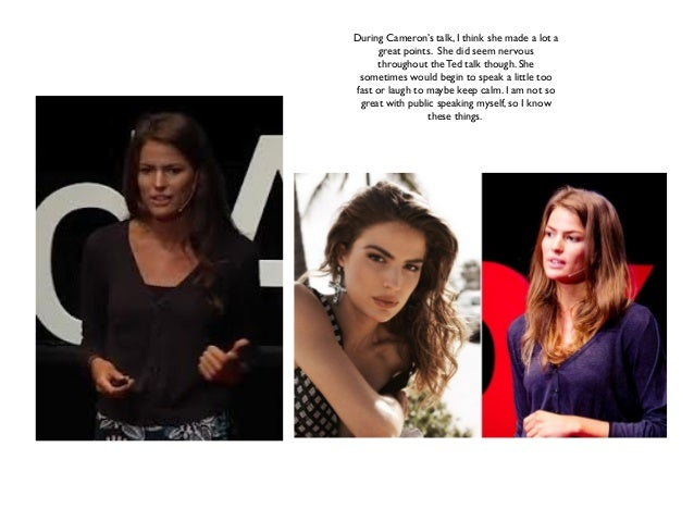Ted talk cameron russell looks aren't everything believe ...