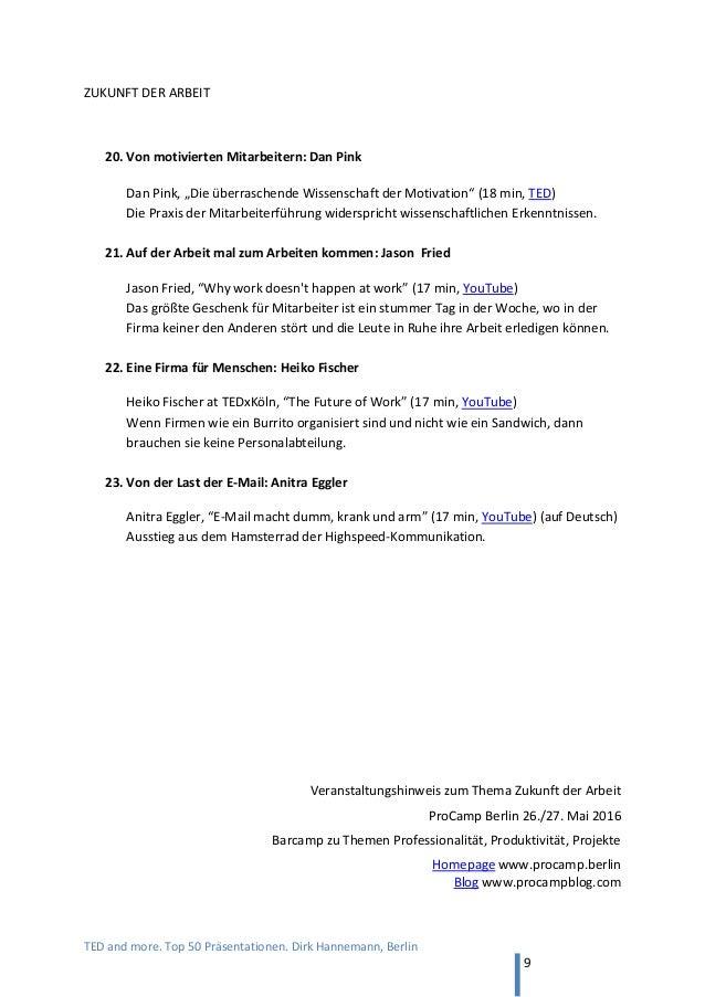 TED and more. Top 50 Präsentationen online