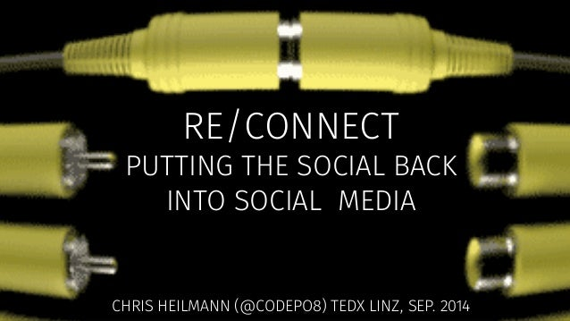The web is dead  Social media is ruining our lives! MEH!  RE/CONNECT  'Look Up' - A spoken word film for an online generat...