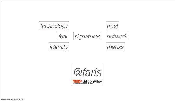 Te dx   technologies of identity Slide 2
