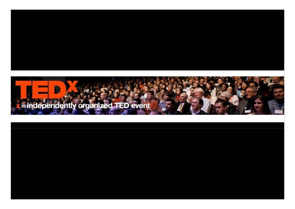 O que é o TED?   O TED é um evento anual, onde alguns dos principais pensadores da actualidade, são convidados a partilhar...