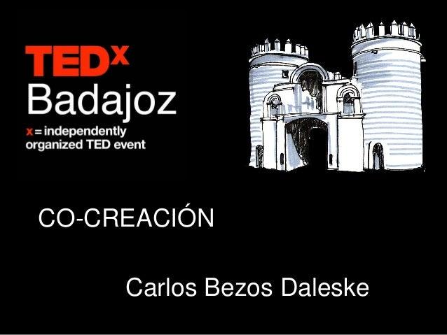 CO-CREACIÓN     Carlos Bezos Daleske