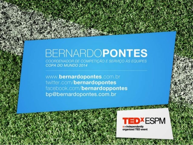 TEDxESPM - Bernardo Pontes