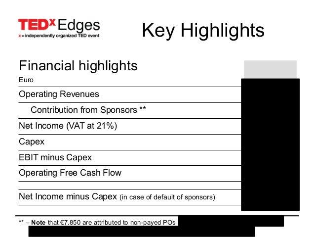 TEDxEdges 2010 - results presentation Slide 3