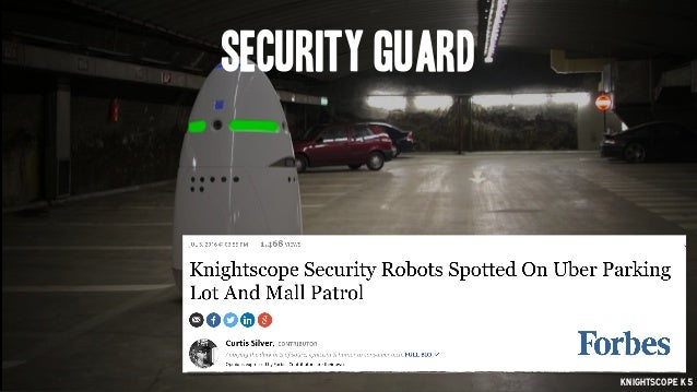 security guard knightscope K5