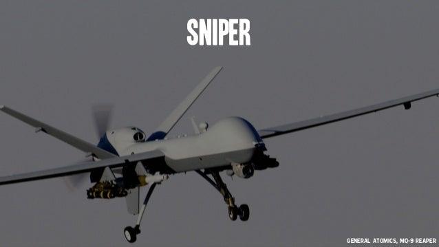 Sniper General Atomics, MQ-9 Reaper
