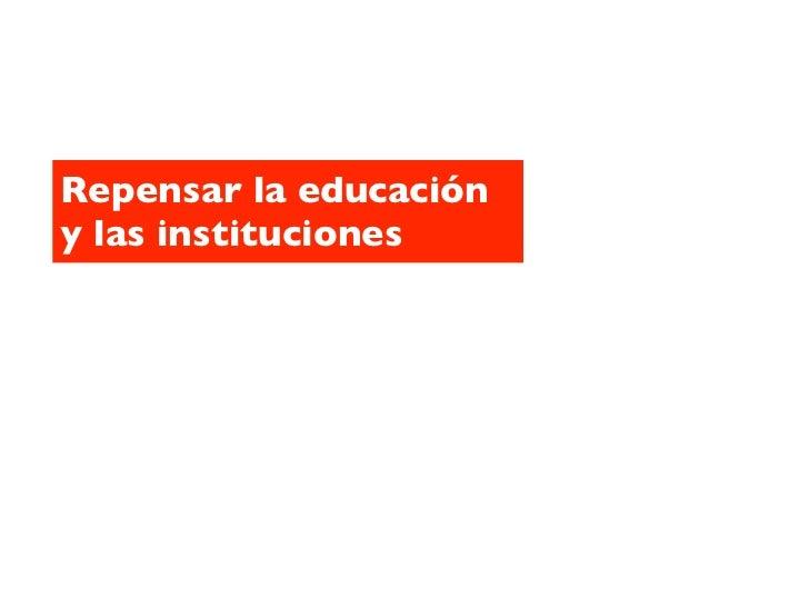 Los nuevos objetivos de lasinstituciones educativas